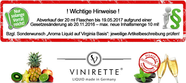 Vinirette Liquid 20 ml