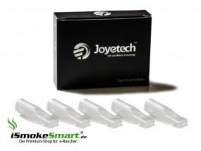 5 Tank-Depots für eGo-T / eGo-C (Typ B) von Joyetech (weiß transparent)