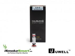UWELL Caliburn G Coil UN2 Meshed H Ersatz-Verdampfer 0,8 Ohm (4 Stück)