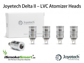 5 Joyetech Delta 2 LVC Atomizer 0,5 Ohm (Sub-Ohm Verdampfer-Köpfe)