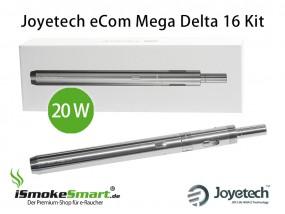 Joyetech eCom Mega Delta 16 Kit (silber)