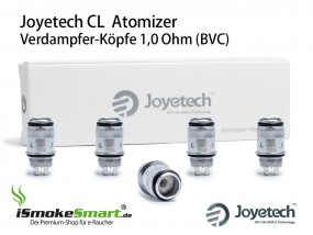 5 Joyetech CL Atomizer 1,0 Ohm (eGo ONE Verdampfer-Köpfe)