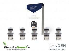 LYNDEN VOX Coils – Ersatz-Verdampfer 0,25 Ohm (5 Stück)