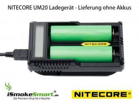 Nitecore USB-Ladegerät UM20 (2 Slots)