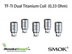 SMOK TF-Ti (0,33 Ω) Titan Dual Coil Verdampfer (5 Stück)
