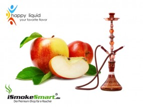 Happy Liquid - Shisha Apfel (10 ml)