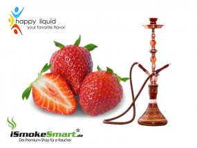 Happy Liquid - Shisha Erdbeer (10 ml)