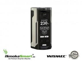 Steamax (WISMEC) Reuleaux RX GEN 3 Dual Akkuträger (gunmetal)
