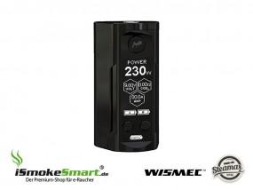 Steamax (WISMEC) Reuleaux RX GEN 3 Dual Akkuträger (schwarz)