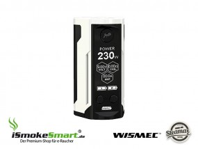 Steamax (WISMEC) Reuleaux RX GEN 3 Dual Akkuträger (weiss)