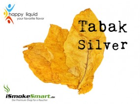 Happy Liquid - Tabak Silver (10 ml)