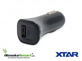 XTAR KFZ USB-Ladeadapter (Auto-Ladestecker)