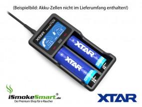 XTAR USB-Ladegerät VC2 Plus Master (2 Slots)