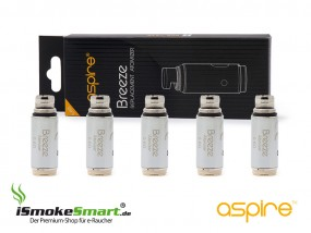 aspire Breeze Ersatz-Verdampfer (0,6 Ohm)