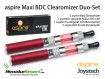 aspire Maxi BDC Clearomizer Duo-Set (rot, rot)