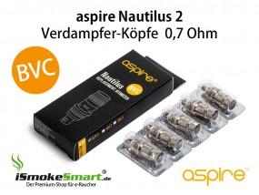 aspire Nautilus 2 BVC Ersatz-Verdampfer 0,7 Ohm (5 Stück)