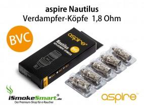 aspire Nautilus / Mini BVC Ersatz-Verdampfer 1,8 Ohm (5 Stück)