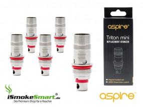 aspire Triton Mini, Nautilus – Ni200 TC-Verdampfer 0,15 Ohm (5 Stück)