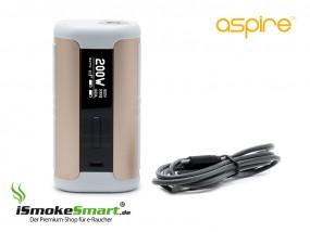 aspire Speeder 200W Akkuträger (gold/weiss)