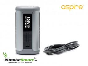 aspire Speeder 200W Akkuträger (silber/grau)
