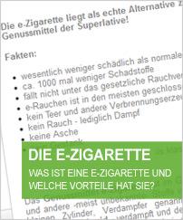 e-Zigarette - Was ist eine e-Zigarette