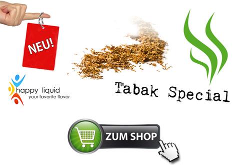 e-Zigarette Tabak-Liquid