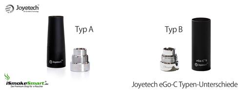 Joytech eGo-C Typ A oder Typ B